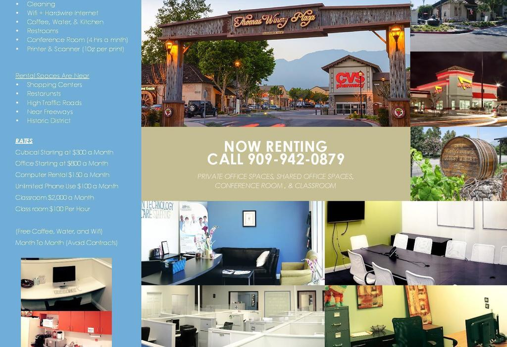 7965 Vineyard Avenue, F Rancho Cucamonga, CA 91730